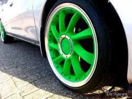 Покраска колес