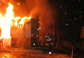 4 часа тушили жилой дом в Катав-Ивановске