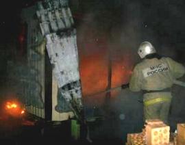 17 человек тушили здание в Магнитогорске