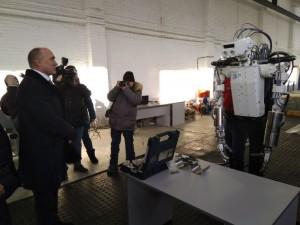 Борис Дубровский оценил технопарк «Андроидная техника»