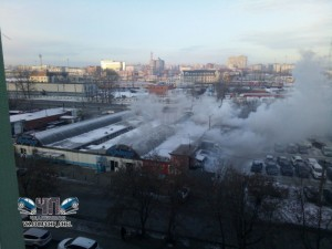 Сгорел павильон в «Порт-Артуре»
