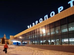 Аэропорт «Баландино» утром работает без сбоев, несмотря на холода