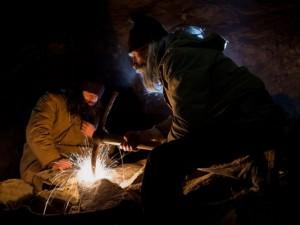 Фотосессию в заброшенной штольне организовали жители Южного Урала