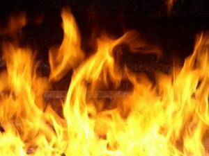 Сгорел в своем коттедже