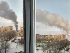 Опасность взрыва. В Челябинске загорелся садовый домик