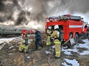 ЧП на железной дороге: вытекло топливо для реактивных двигателей