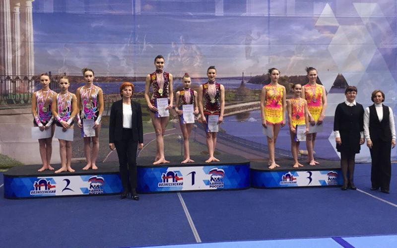 Брянские акробатки выиграли чемпионат Центрального федерального округа