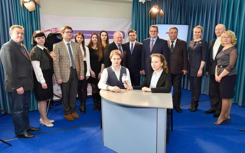 В Брянском государственном университете открыли телестудию