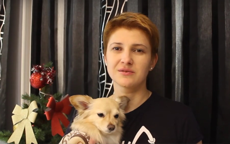 Через Брянск пройдет мотопробег московской дамы с собачкой «Лапа добра»
