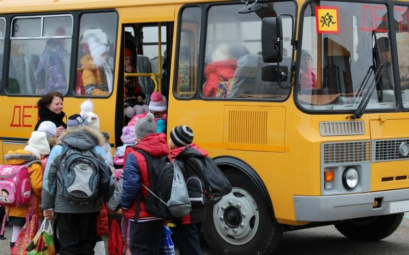 Дети из Брянска застряли по дороге в Крым