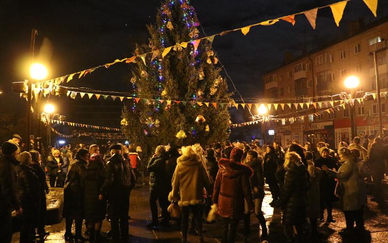 Брянцы встретили Новый год у 17 городских елок