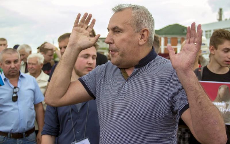 Брянский предприниматель Александр Коломейцев попросил защиты у Путина