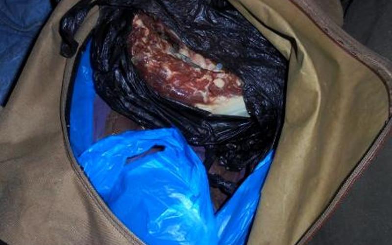 Молдаване не довезли до новогодних столов брянцев почти полтонны мяса