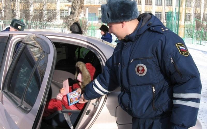 Брянские автоинспекторы снова рассекретили место засады