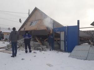 Взорвался дом в Кыштыме