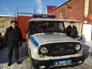 Бойцы Росгвардии помогли потушить пожар в Катав-Ивановске