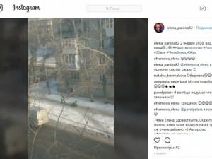 Челябинские «коммунальные сани» рассмешили жителей ВИДЕО