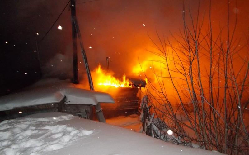 Под Суражом сгорела баня — никто не пострадал
