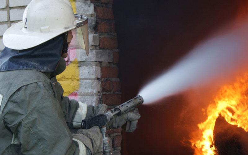 ВВыгоничском районе пожарные 20 минут тушили нежилой дом