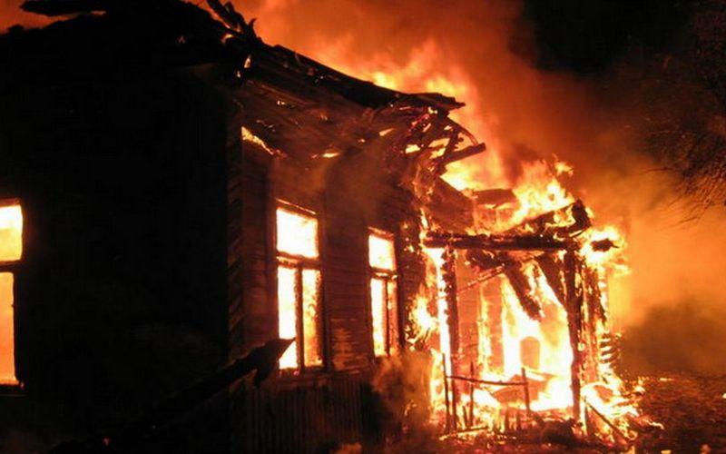 ВПочепском районе горел дом— есть пострадавший