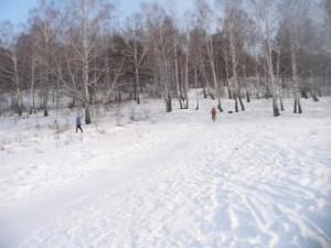 Не смогли вернуться на трассу. Коркинцы потерялись на лыжной трассе