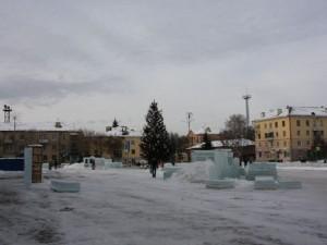 Ледовый городок опасен. Решили снести
