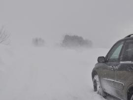 Сильный снег, метели, гололед в Челябинской области