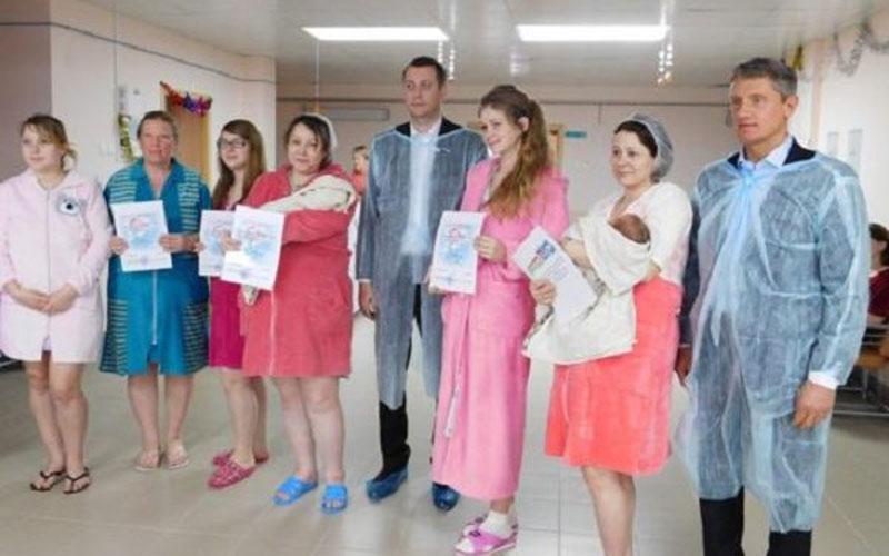 ВКлинцах насвет появились 17 новогодних малышей