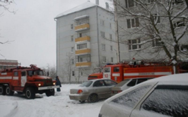 ВКлинцах горела квартира— все уцелели
