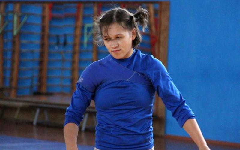 Брянская спортсменка пробилась в сборную России по женской борьбе