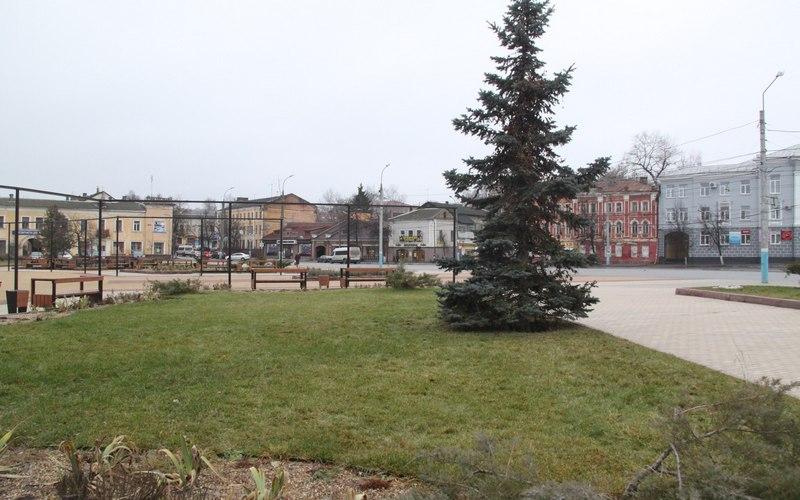 В Брянске зеленеет набережная — в январе
