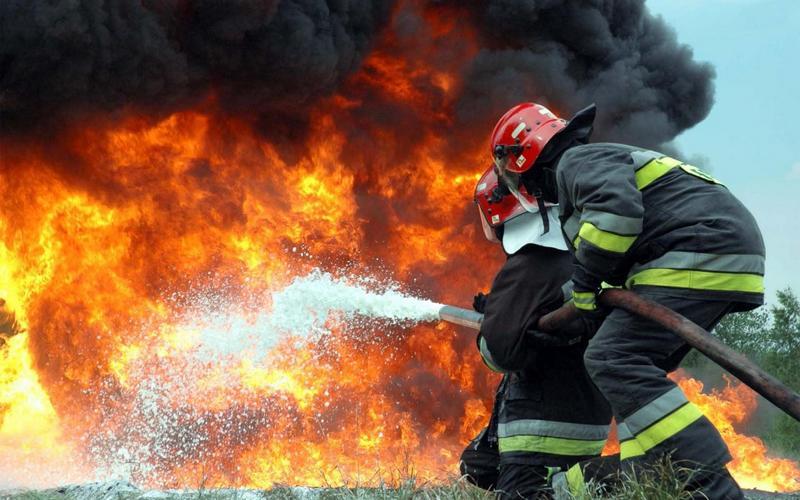 Во время пожара в Севске спасли хозяйку дома
