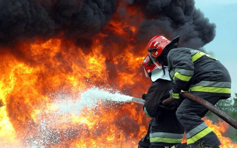 В Погаре ночью сгорел гараж