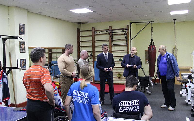 Замгубернатора иглава Брянска стали Почетными членами клуба «Пересвет»