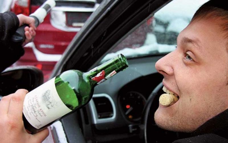 Впервые дни нового года автоинспекторы поймали более 100 пьяных брянцев