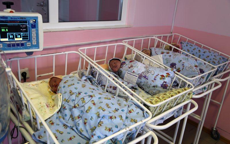 В наступившем году аист принес брянцам 148 детей