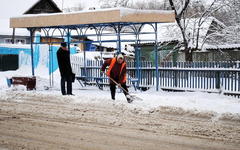 В Брянске на битву со снежными завалами бросили 78 машин и 196 человек