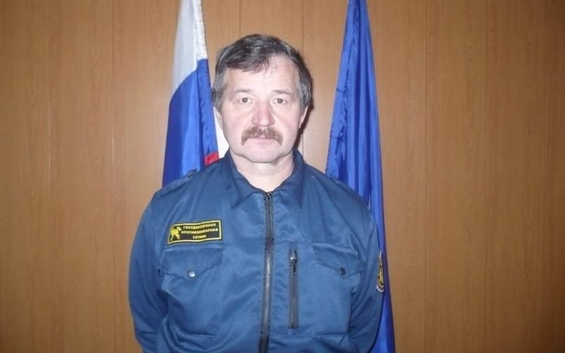 Водитель брянской пожарно-спасательной части спас мужчину на пожаре