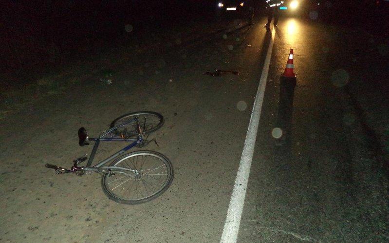 «Субару» выбил велосипедиста изседла