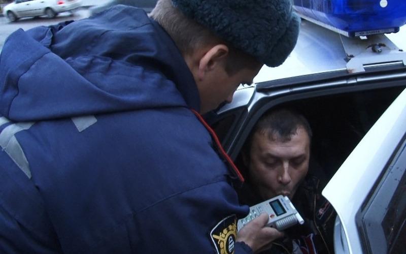 В Брянске и области устроили облаву на пьяных водителей и пешеходов