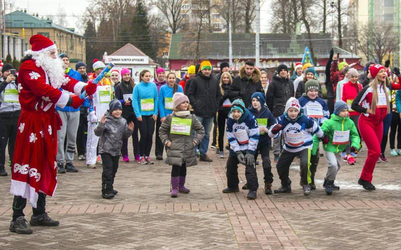 Более 150 брянцев на бегу взяли на себя обязательства в новый год
