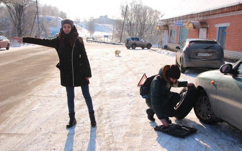 В Севске девушки устроили мужчинам акцию-провокацию