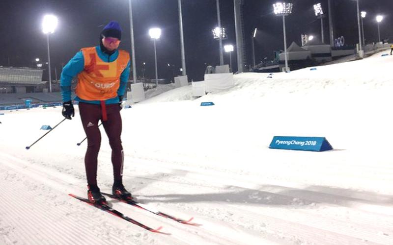 Брянский лыжник Александр Большунов прибыл в Корею и выступит в спринте