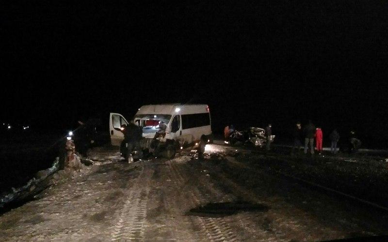 Видео жуткого ДТП с брянской маршруткой выложили в Сеть