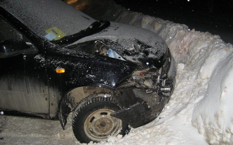 Машина с ребенком попала в ДТП под Брянском