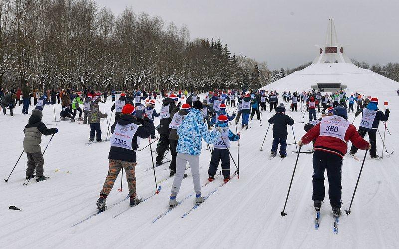 В Брянске назвали самых юных участников «Лыжни России»