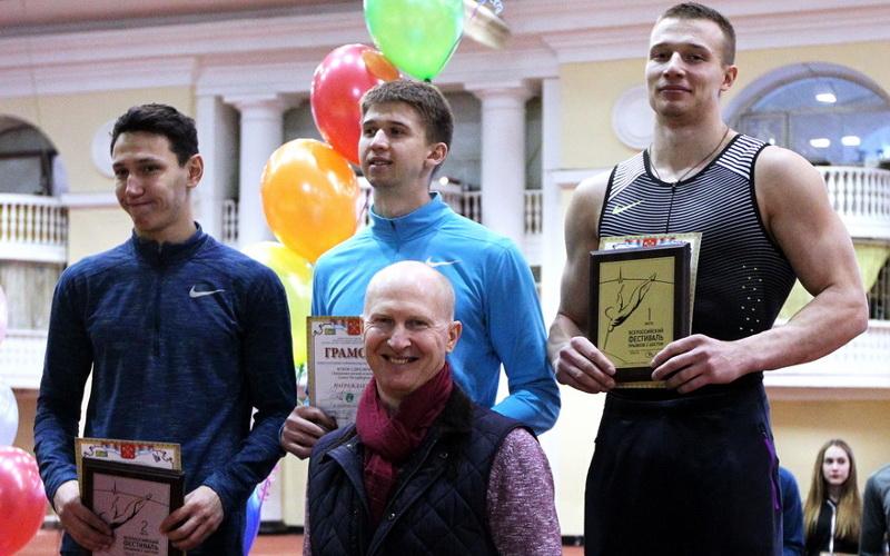 Брянский атлет стал лучшим на фестивале прыжков с шестом в Санкт-Петербурге