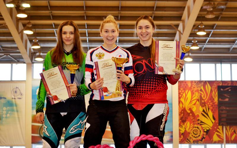 Брянская велогонщица начала выступление в Кубке России по BMX с бронзы