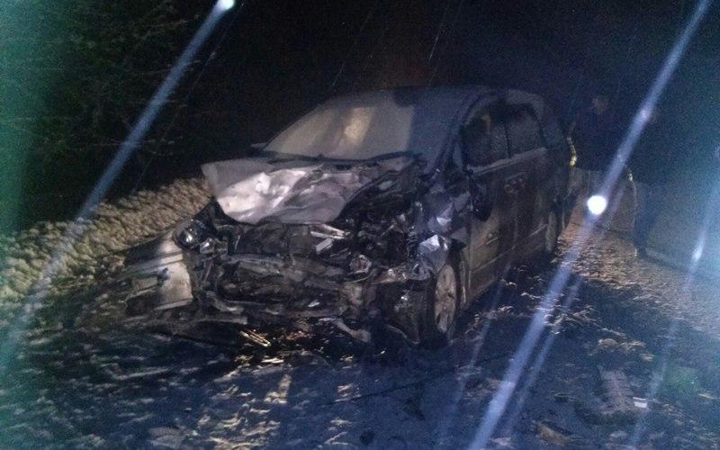 В страшном ДТП на брянской трассе один погиб, семеро ранены