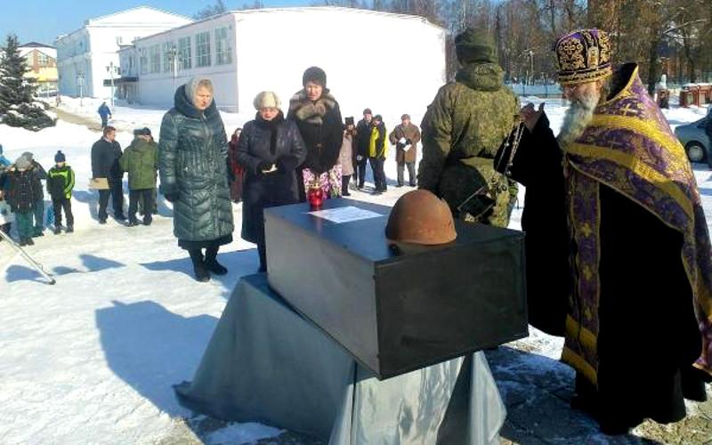 Останки брянского красноармейца вернут на его малую родину